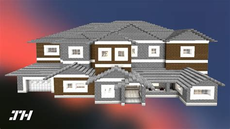 minecraft house  redstone edition youtube