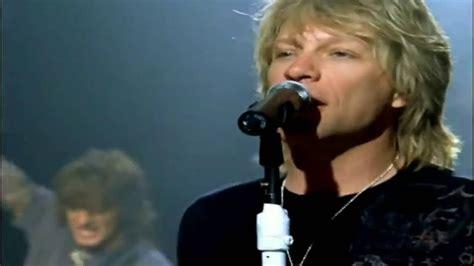 Bon Jovi Como Nadie Amado Music Video Letra