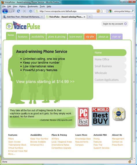 ip phone service voice pulse ip phone service