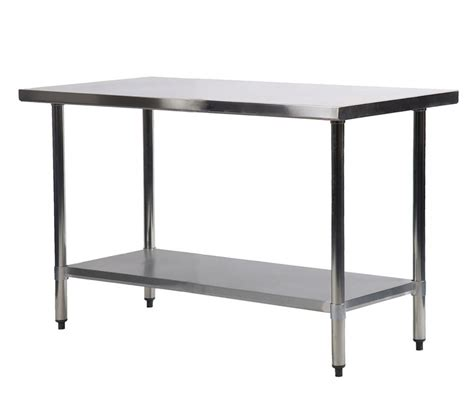 """24"""" X 48"""" Stainless Steel Kitchen Work Table Commercial"""