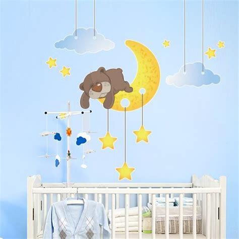 stickers chambre bébé nounours stickers chambre bébé pour un éveil apaisé et souriant