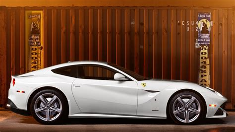 For the ultimate, there's the f12tdf. Ferrari F12 white supercar side view Wallpaper   1920x1080 Full HD resolution wallpaper download ...