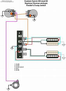 Hermetico Guitar  Wiring Diagram  Custom Carvin Mods 02 And 03