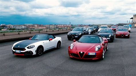 Fiat Alfa Romeo by The Fiat Chrysler Automobiles Range Of Automatic Cars