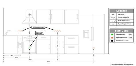 Elektroinstallation Kuche elektroinstallation k 252 chen plan planung
