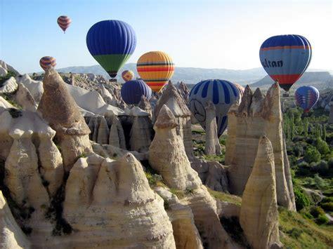 Hot Air Balloon Ride In Cappadocia Turkey Tour Packages
