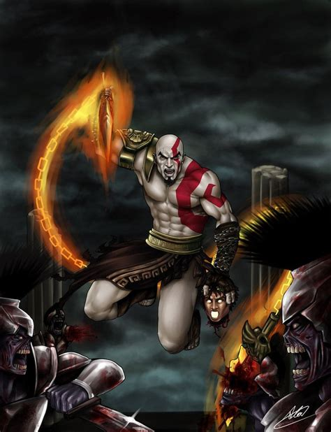 Kratos God Of War God