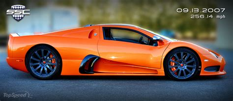 Fastest Production by Ssc Ultimate Aero Becomes Fastest Production Car In The