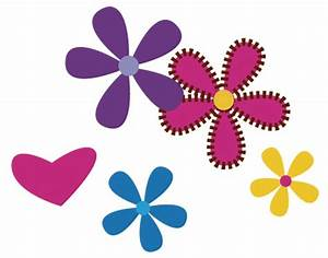 Flower photo clip art
