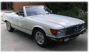 1982 Euro Mercedes 280sl 4 Speed