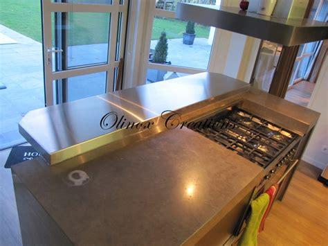 tablette special cuisine cuisine professionnelle sur mesure plan de travail en