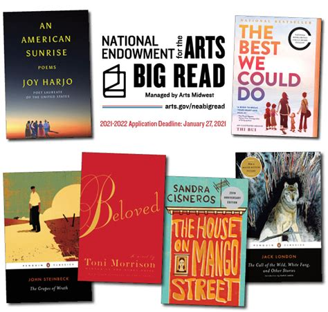 NEA Big Read Grant Opportunity   National Endowment for ...