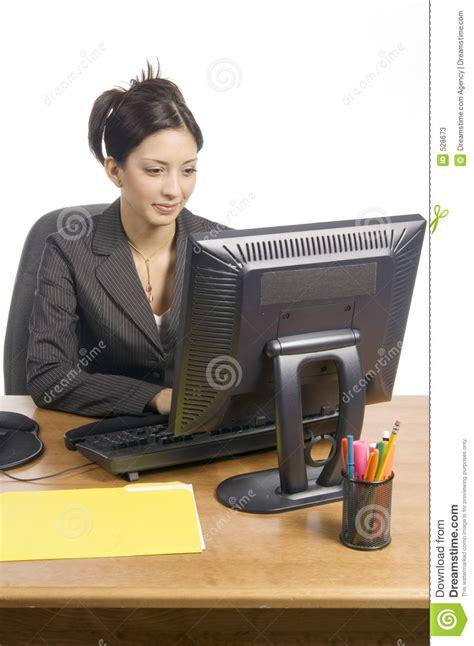 femme de bureau femme de bureau image stock image du femme transmission