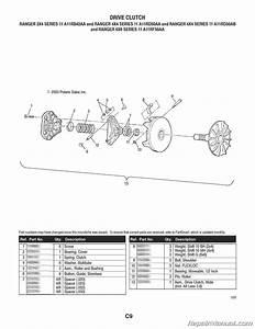 Polaris Ranger 2 U00d74 4 U00d74 6 U00d76 Series 11 Parts Manual