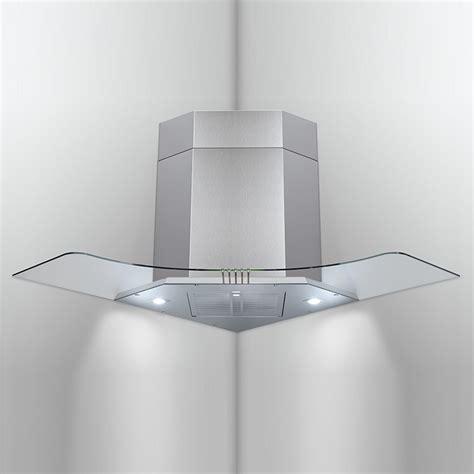 filtre hotte de cuisine hotte d 39 angle f34 tc led