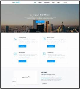 released jsn blank 2 template for joomla developers With joomla empty template
