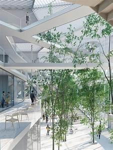 Vista del interior del proyecto. Nuevo Centro de ...