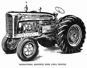 The Inter Super Awd6 Australian Tractor  Manuals For It