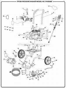 Ryobi Ry802800 Pressure Washer Mfg  No  090079267