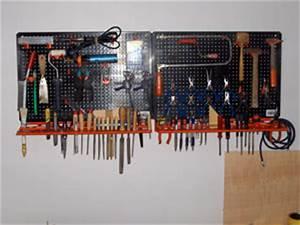 Rangement Outils Garage : rangement outillage atelier rangement atelier de bricolage systeme de rangement mural pour ~ Melissatoandfro.com Idées de Décoration
