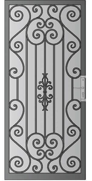 phoenix gatita puertas de hierro forjado puertas