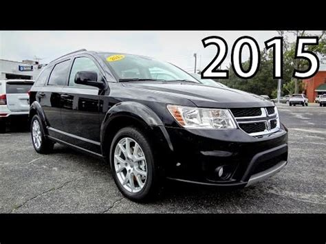 2015 DODGE JOURNEY SXT   YouTube
