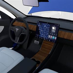 Tesla Model Y Blue with interior 3D Model in Sedan 3DExport