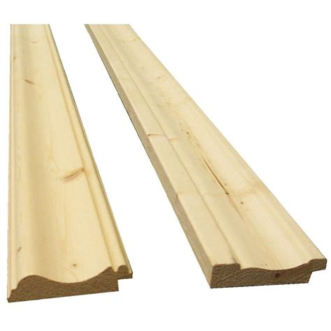 Trim For Wainscoting by Wainscoting Knotty Hakwood Pine Bead Board Trim Kit