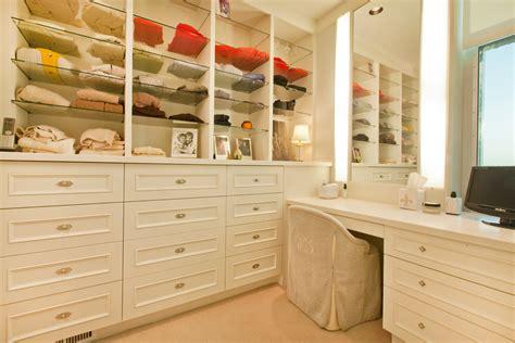 makeup vanities closet traditional with built in closet
