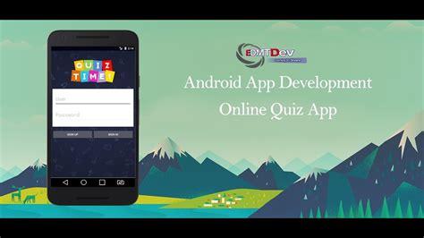android studio tutorial  quiz app part  sign