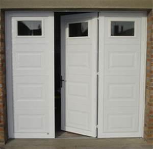 porte de garage battante tradition evidence portes de With porte de garage 3 vantaux pvc