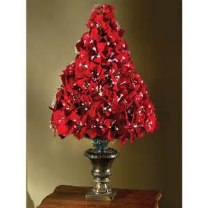 Fiber Optic Christmas Tree Canada by The 4 Fiber Optic Poinsettia Tree Hammacher Schlemmer