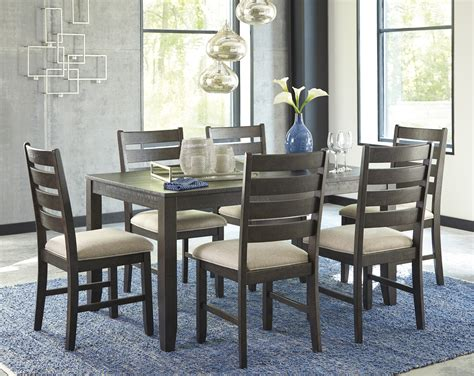 rokane casual  pc dining table set   chairs