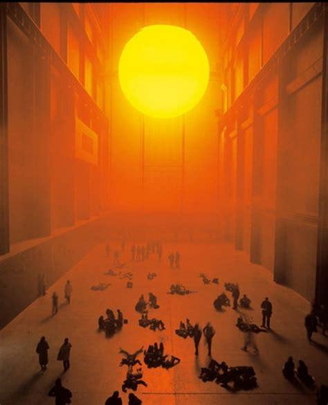 Olafur Eliasson Sun by Olafur Eliasson S Weather Project Magazine