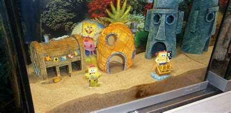 spongebob aquarium decoratie spongebob aquarium aquarium decoratie pinterest