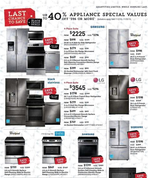 lowes black friday ads sales deals doorbusters