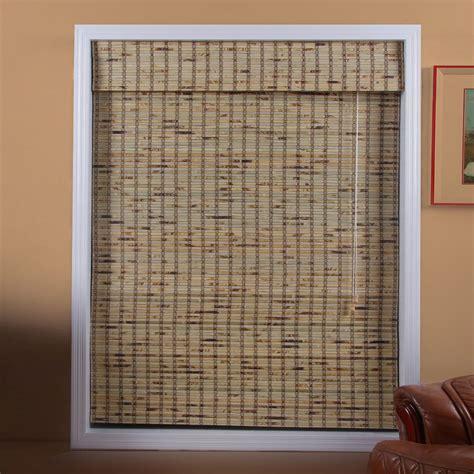 arlo blinds tbb tropical rustic bamboo roman shade