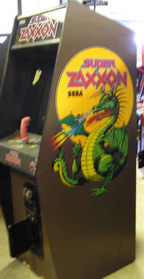 Super Zaxxon Arcade Machine Game For Sale By Sega Pilot