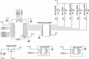 A Simpli Fi Ed Circuit Diagram Showing The Keys Elements