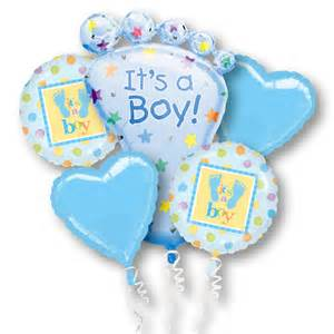 its a boy mylar party balloon bouquet inflated balloon