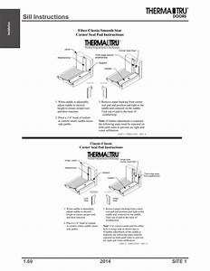 Sill Instructions