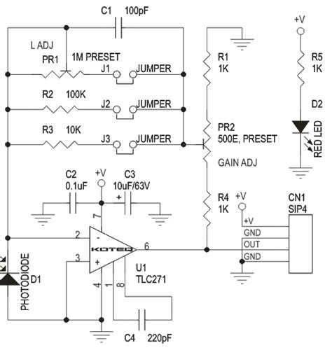 Lux Meter Module Based Amp Circuit Ideas