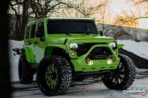 modified jeep wrangler front