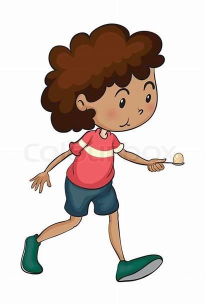 Walking Boy Clipart Vector Colourbox Supplier