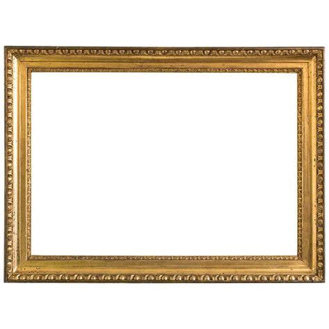 picture frame golden biedermeier frame egg and dart austria circa 1825 for sale at 1stdibs