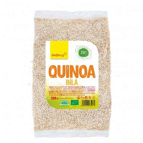 BIO Bela kvinoja - Wolfberry | GymBeam.si
