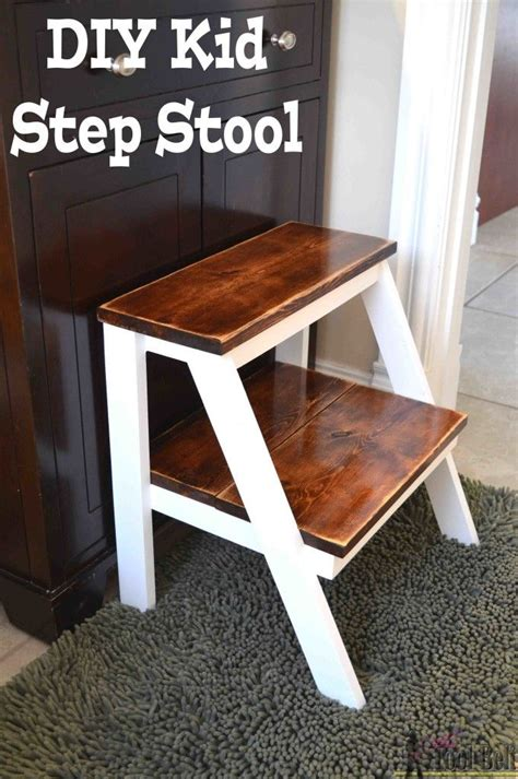 kids step stool easy wood projects wood shop projects