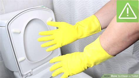 toilet schoonmaken stappenplan 3 ways to clean a toilet wikihow