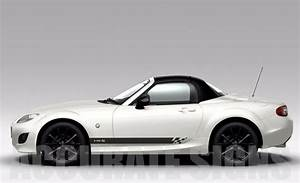 Mazda Mx5 Side Stripes  Pair  Car Decals Graphics Any