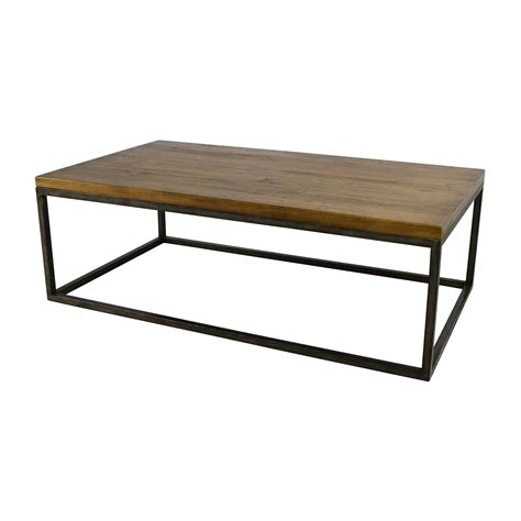 west elm end table 51 off west elm west elm box frame coffee table tables